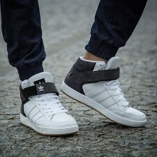 Adidas Originals Mens Varial Mid Hi-top Trainers Shoes in White Various Sizes