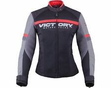 Women's Skyline Mesh Jacket - Black/Gray - by Victory Motorcycle®