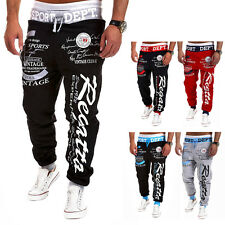 Men Male Clothing Trouser Gym Jogger Dance Sport Sweatpants Slacks Long Pants