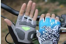 Fashion New Cycling Bike Bicycle GEL Shockproof Sports Half Finger Glove