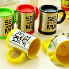 Stainless Steel Kitchen Electric Self Stirring Double Insulate Coffee Mug Cup