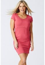 BRAND NEW Pea in a Pod Rouched Nursing Tee Dress  - Breastfeeding Specialists