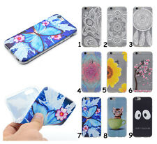 Rubber Gel Soft TPU Silicone Phone Case Clear Cover For iPhone LG Huawei Lenovo