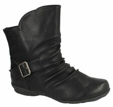 LADIES SPOT ON ANKLE BOOTS STYLE - F50337