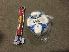 Mexico Voit Ball Size 4 White and Blue Pump Included balon blanco y azul Liga MX