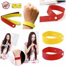 Anti Mosquito Bug Repellent Wrist Band Insect Non-Toxic Bracelet Outdoor