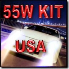 55W 9006 XENON HID CONVERSION KIT FOR Fog Light 4300K 6000K 8000K 10000K @