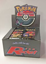 Pokemon 1st Edition Booster Pack - Team Rocket. Brand New! Factory Sealed.