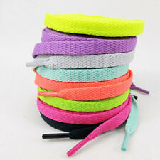 High Quality 1 Pair Flat 48 Inch Shoelaces 120CM Shoe Laces for Outdoor Sport