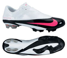 NIKE CR7 MERCURIAL VAPOR V FG FIRM GROUND SOCCER SHOES  White/Pink Flash/Black/M