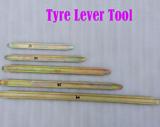 MOTORCYCLE  TIRE STEEL IRONS  LEVERS CHANGING TOOL 5 SIZES