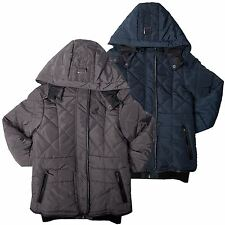 Kangol Girls Winter Padded Jacket Hooded Zip Through Jacket Girls Coat Yrs 4-10