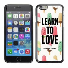 Hard Phone Case Cover Skin For Apple 811 Love Trump drawing colors ice-cream