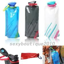 Creative 700mL Outdoor Foldable Reusable Sport Water Bottle Bag BPA-Free Bicycle