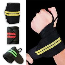 New Weight Lifting Strap gym Sport Wrist Wraps Bandage Hand Support Wristband