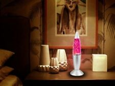 Lava Lamp Colour Changing LED Glitter Lamps Light Peace Office Bed