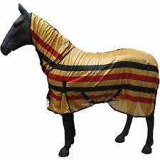 NEWMARKET SUMMER FLY SHEET PONY HORSE PROTECTION COVER FULL NECK MESH RUG SIZES