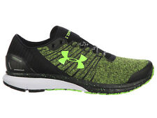 NEW MENS UNDER ARMOUR CHARGED BANDIT 2 CROSS TRAINING SHOES HYPER GREEN / BLACK
