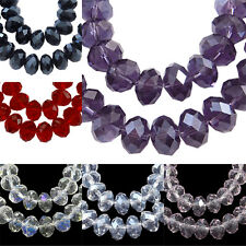 10 Strands Crystal Suncatcher Glass Beads Faceted 6mm/8mm/10mm Beading Crafts