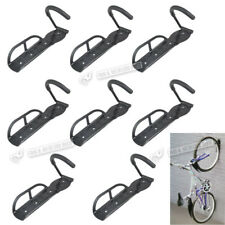 Bike & Bicycle Wall Mount Hook Rack Mounted Holder Hanger Stand Storage Steel