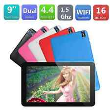 """5 colors 9"""" Android 4.4 A33 Allwinner Quad Core 522 +8G 8GB Bluetooth Tablet PC"""