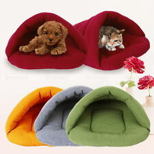 Soft Pet Warm Bed House Plush Cozy Nest Mat Pad Cushion Dog Puppy Cat Bed