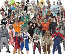 Adult Mens Zombie Costume Halloween Party Fancy Dress Smiffys Outfit