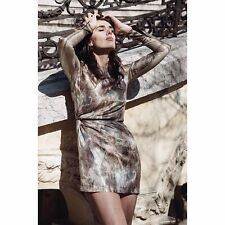 H&M Conscious Exclusive Collection Silk Lyocell Gold Dress UK 10 12 14 16 BNWT