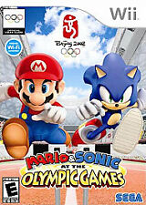 Mario & Sonic at the Olympic Games Wii BEIJING 2008  NO MANUAL