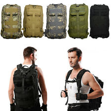 35L Hiking Camping Bag Army Military Tactical Trekking Rucksack Backpack