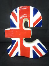 UNION JACK POUND MONEY BOX