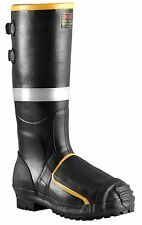 Tingley Midsole Rubber Metatarsal Boot Black Steel Toe/steel Hazard Protection
