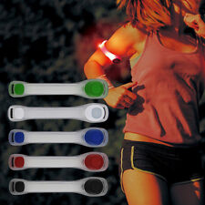 SPORT LED SAFETY REFLECTIVE BELT STRAP FLASHING ARM BAND RUNNING CYCLING ARMBAND