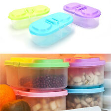 Plastic Kitchen Container Fresh Fruit Food Snacks Storage Sauce Box Food Case IO