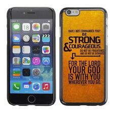Hard Phone Case Cover Skin For Apple iPhone Bible: Be Strong
