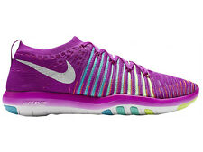 NEW WOMENS NIKE FREE TRANSFORM FLYKNIT RUNNING SHOES TRAINERS HYPER VIOLET / WHI