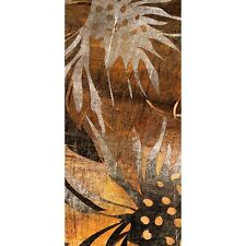"""Door Photo wall paper """"Grunge Blumenmuster Ornaments"""" 100x211 cm abstract 3D"""