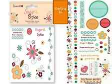 DOVECRAFT SUGAR & SPICE CLEAR STAMPS, STICKERS FOR CRAFT STAMPING & CARDMAKING