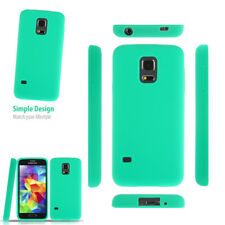 Silicone Gel Plain Fit Rubber Case Back Cover For Samsung Galaxy Mobile Phone
