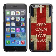 Hard Phone Case Cover Skin For Apple iPhone Bible: Keep Calm and Love Jesus