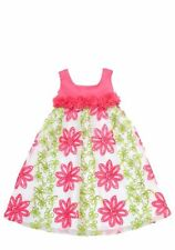 Rare Editions Tent Soutache Dress Toddler Girls Fuschia Pink Special Occasions