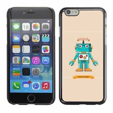 Hard Phone Case Cover Skin For Apple iPhone Hipster Robot