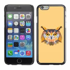 Hard Phone Case Cover Skin For Apple iPhone Triangle Owl Design