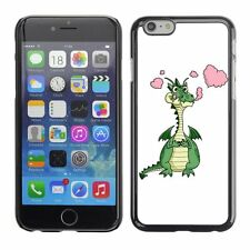 Hard Phone Case Cover Skin For Apple iPhone Cartoon Dragon Image