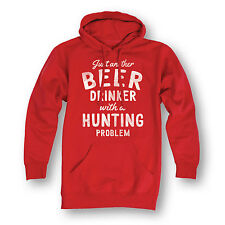 Beer Drinker Hunting Problem-Adult Pullover Hood