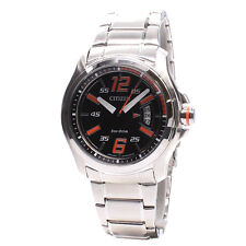 Citizen Mens Analog Business Watch ECO-DRIVE AW1350-59E