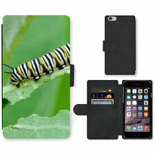 Phone Card Slot PU Leather Wallet Case For Apple iPhone Caterpillar