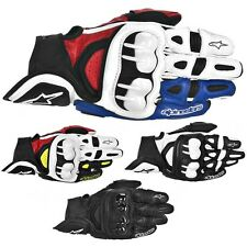 Alpinestars GPX Leather Motorcycle Street Sport Performance Riding Gloves