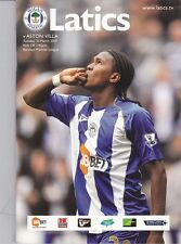 Wigan Athletic Home Programmes 2009/10