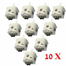 LOT10 White Motion Plus Adapter Sensor for Nintendo Wii Wii U Remote Controller